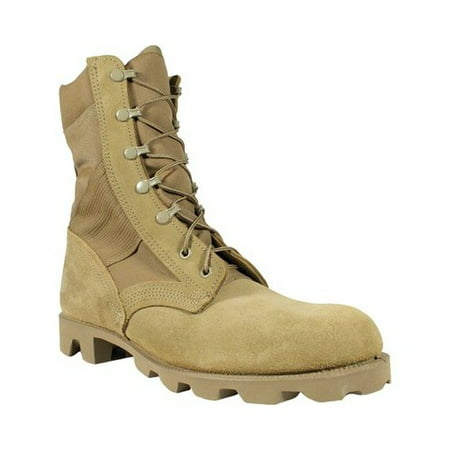 Men's McRae Footwear 8 Inch Hot Weather Panama Sole Combat Boot 8190 (Hot Widow Boots)