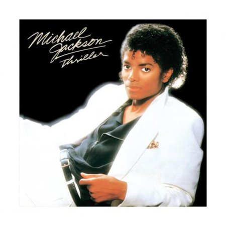 Michael Jackson Thriller 80s Album Cover Art Music Icon Thick Cardstock Poster 15.75x15.75 inch](Michael Jackson 80s)
