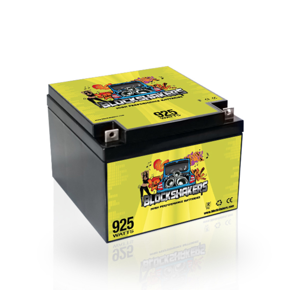 Green 12V 26AH 925 Watts NB/T3 Car Audio Battery replaces XS D925