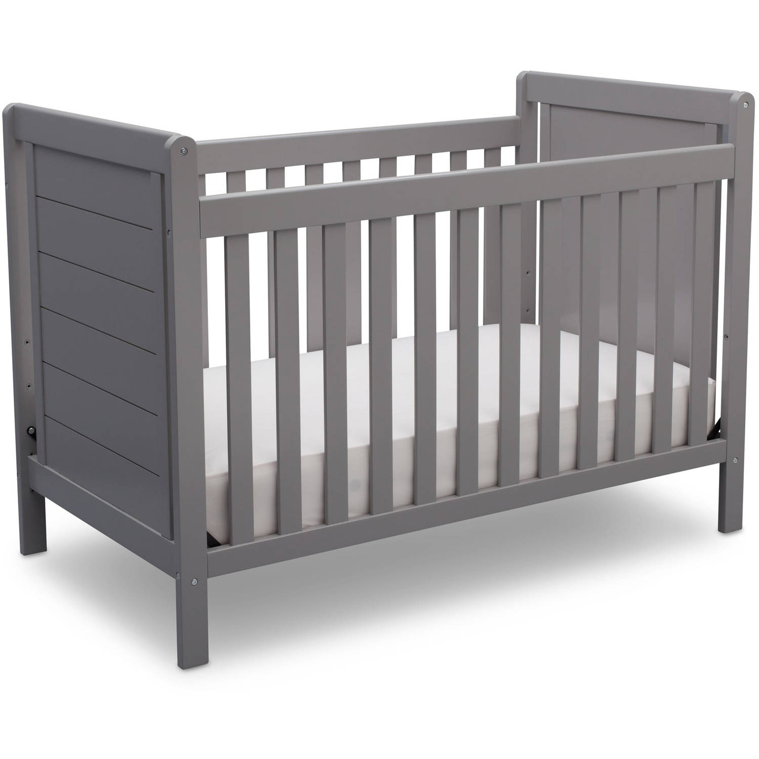 Delta Children Sunnyvale 4-in-1 Convertible Crib Gray