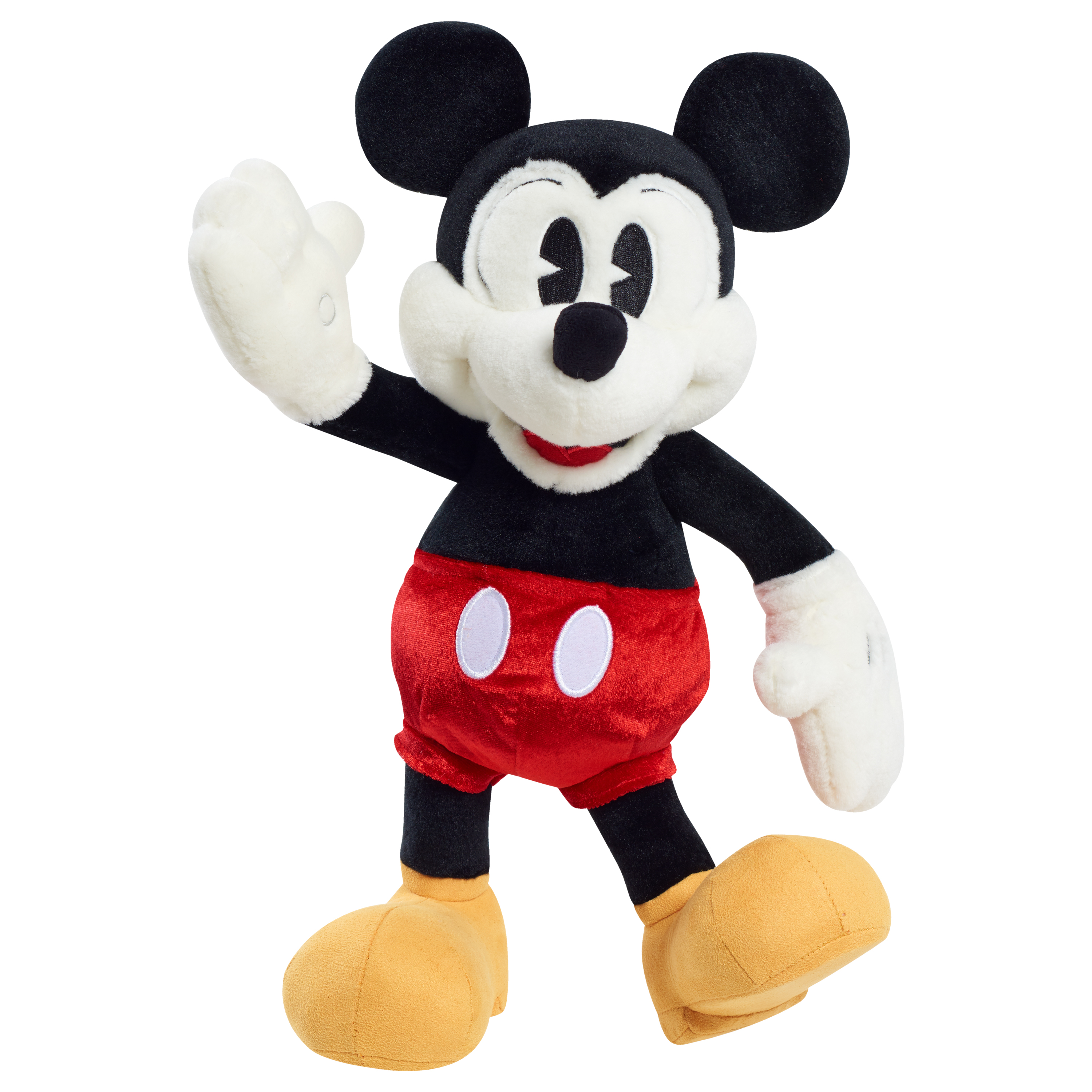 Mickey Mouse 90th Anniversary Special Edition Poseable Mickey Mouse Plush