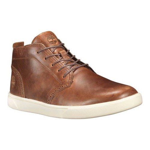 Men's Timberland Groveton Lux Leather Chukka High Top