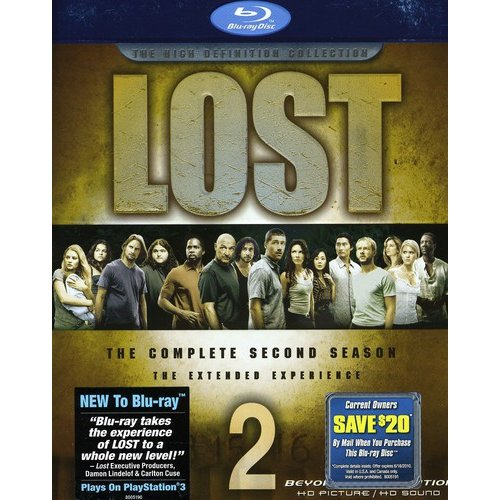 Lost: The Complete Second Season - The Extended Experience (Blu-ray) (Widescreen)