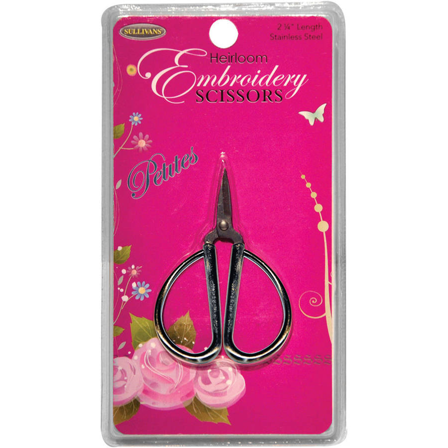 "Petites Embroidery Scissors, 2.25"", Silver"