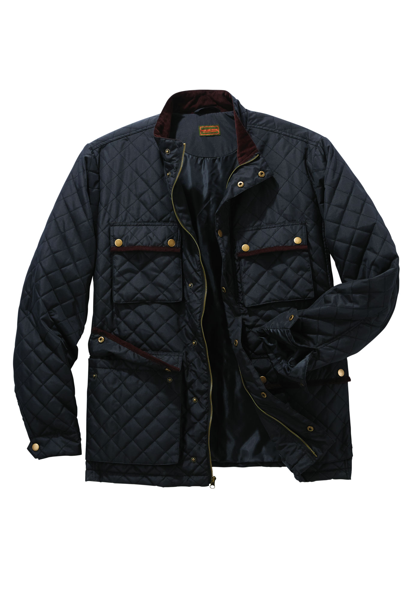 Boulder Creek by Kingsize Mens Big /& Tall Quilted Jacket