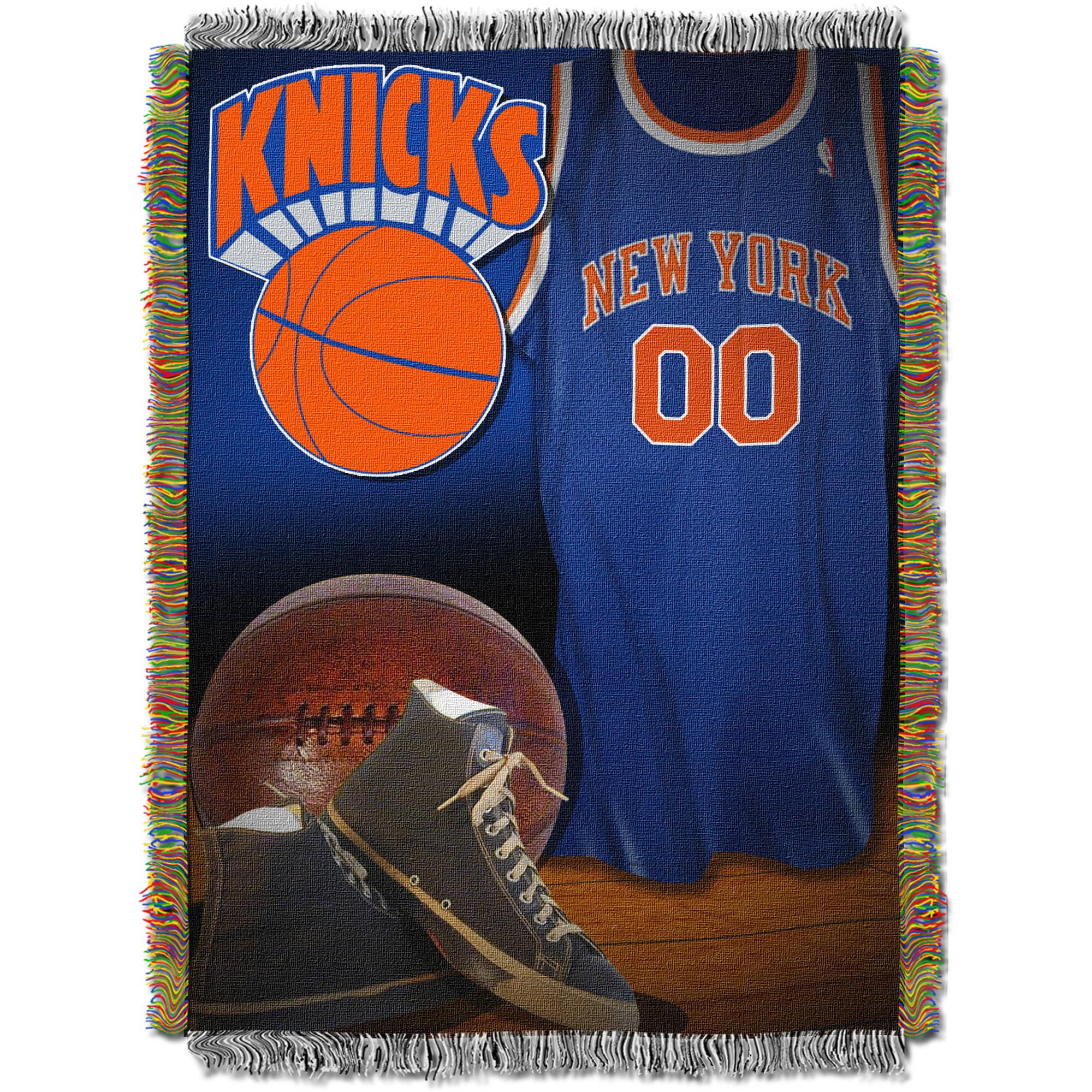 "NBA 48"" x 60"" Vintage Series Tapestry Throw, Knicks"