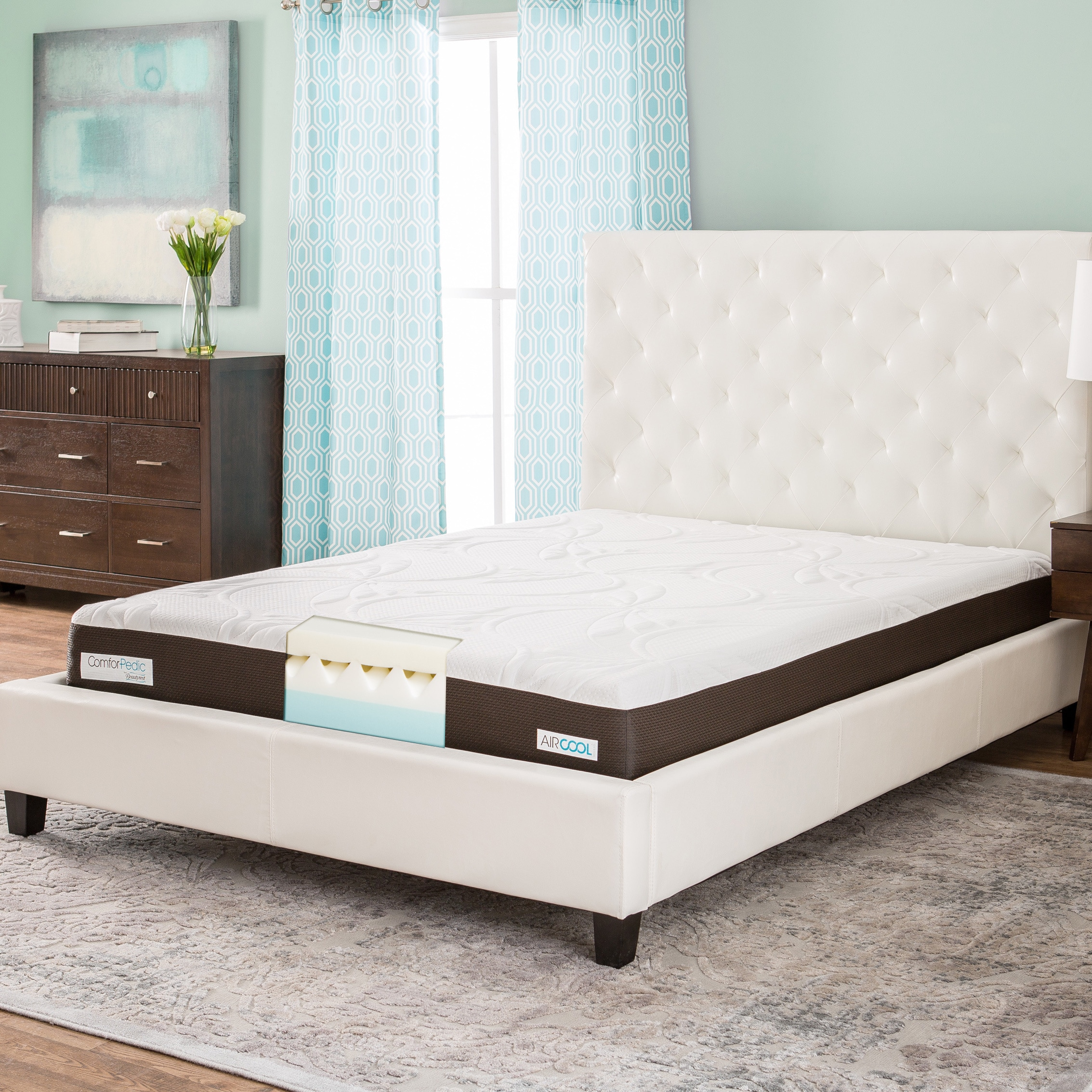 Simmons Beautyrest ComforPedic from Beautyrest 8-inch Que...