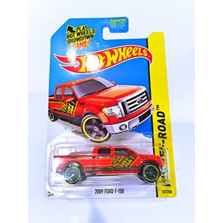 hot wheels 2009 ford f-150 (orange) - hw off-road 2014 hot trucks bff78 137/250 by