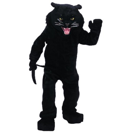 Panther Black Mascot Complete - image 1 of 1