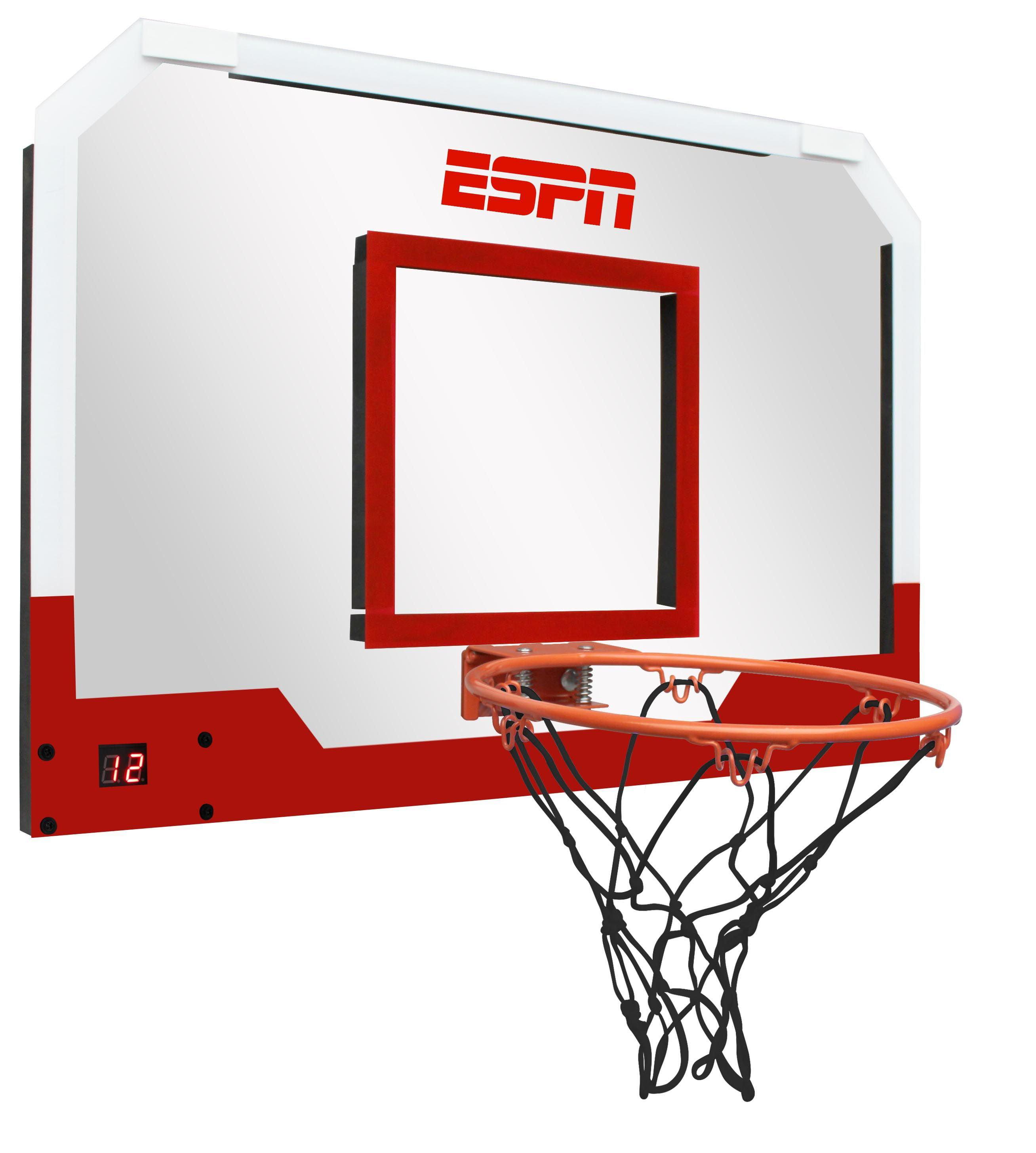 Medal Sports ESPN Pro Basketball Door Hoop With LED Electronic Scoring |  1451803   Walmart.com