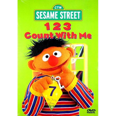1 2 3 Count With Me (DVD) (Free Sesame Street Videos)