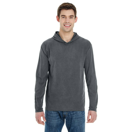 Comfort Colors Adult Heavyweight RS Long-Sleeve Hooded T-Shirt - 4900