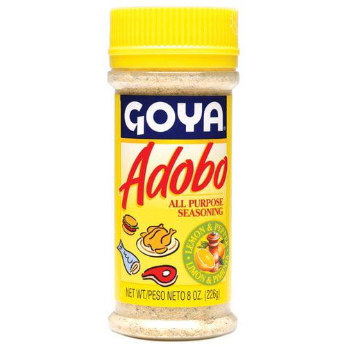 Goya Adobo Lemon & Pepper All Purpose Seasoning, 8 oz