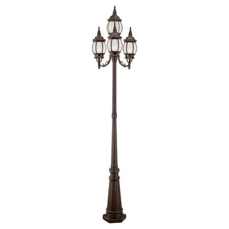 Livex Frontenac 7914 Outdoor Post Lamp - Imperial Bronze