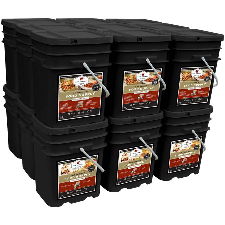 Wise Company Combination Breakfast/Entree & Soup Emergency Food Supply Kit, 2160 pc