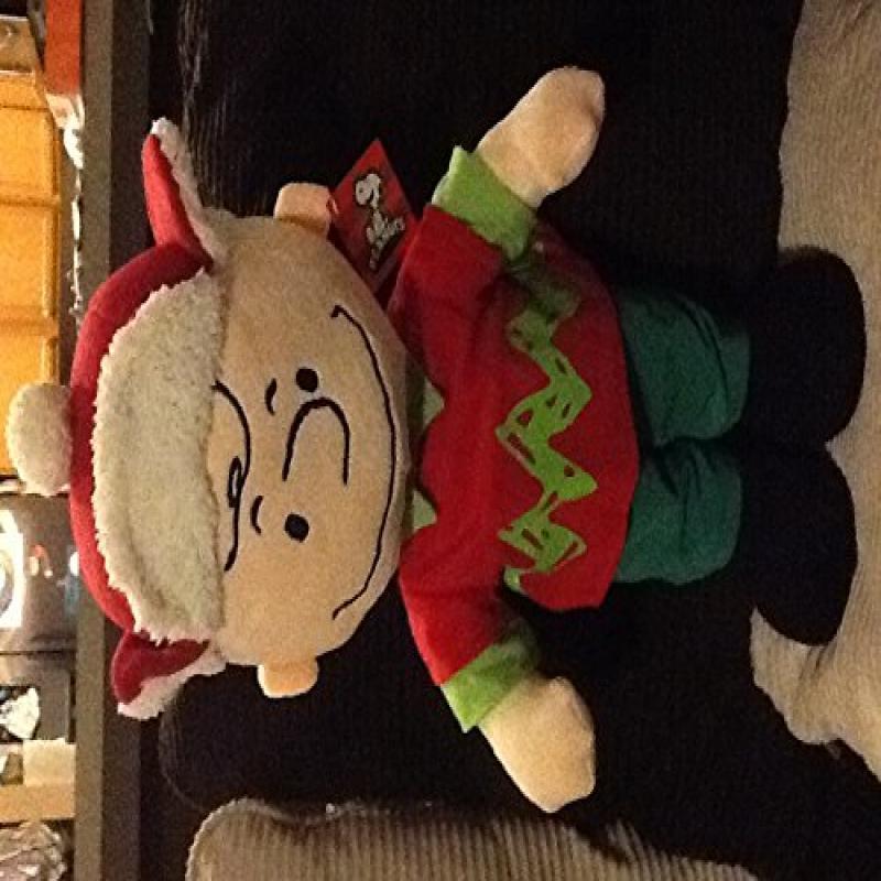Charlie Brown The Peanuts Gang Large Stuffed Plush 19 Jumbo
