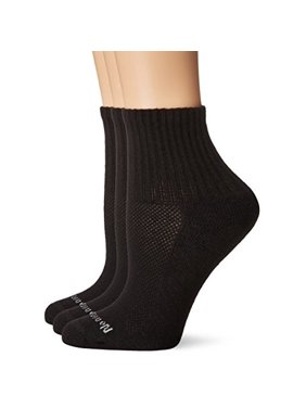 No Nonsense Women's Soft and Breathable Cushioned Mini Crew Sock 3-Pack