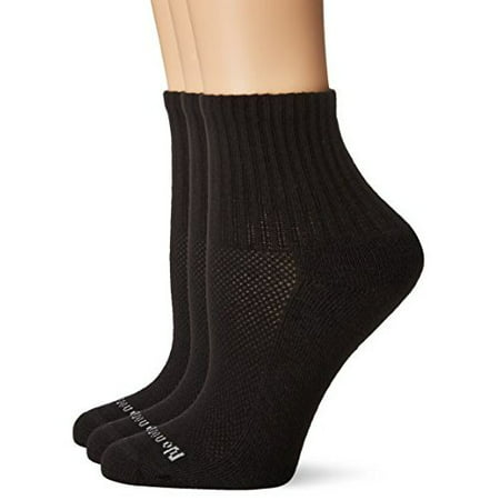 No Nonsense Women's Soft and Breathable Cushioned Mini Crew Sock