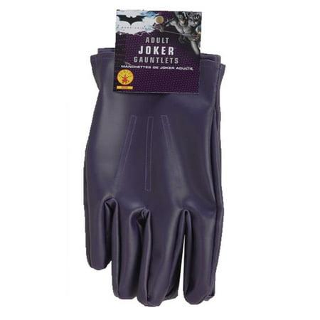 Morris Costumes RU8228 Batman Dark knight Joker Gloves Adult Costume](Joker Costume Pinterest)