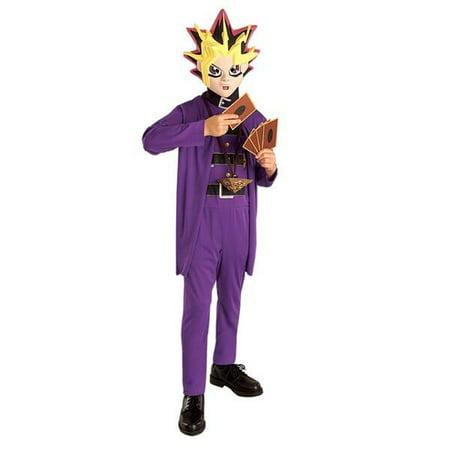 Child's Yu-Gi-Oh Costume~Medium 8-10 / Purple](Yugioh Costume)
