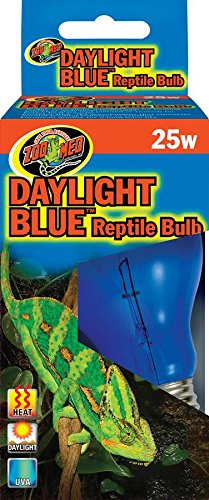 Daylight Blue Incandescent Reptile Bulb 25 Watts, Full spectrum daylight Ship from US..., By Zoo Med by