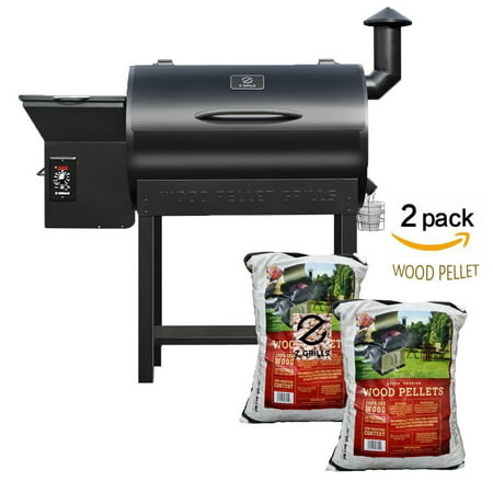 Z Grills Pellet Grill And Smoker Bbq With Digital Controls