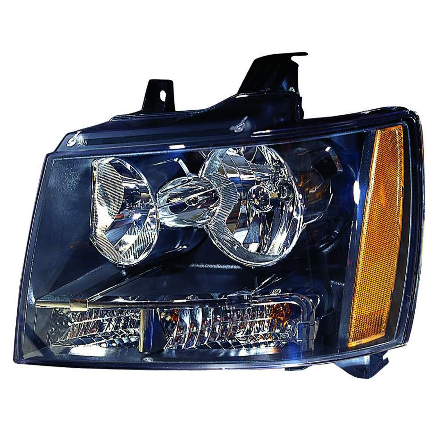 Fits For 2007-2011 Chevrolet Avalanche Headlight Left Driver Side