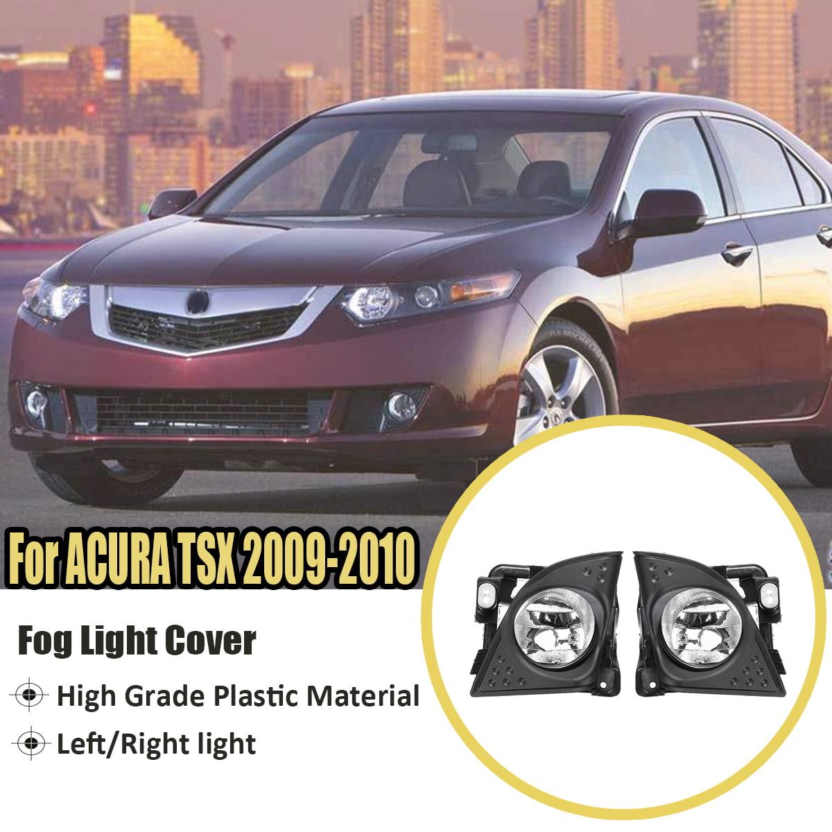 Kadell Left Right Front Fog Light Cover Bezel Trim Clear