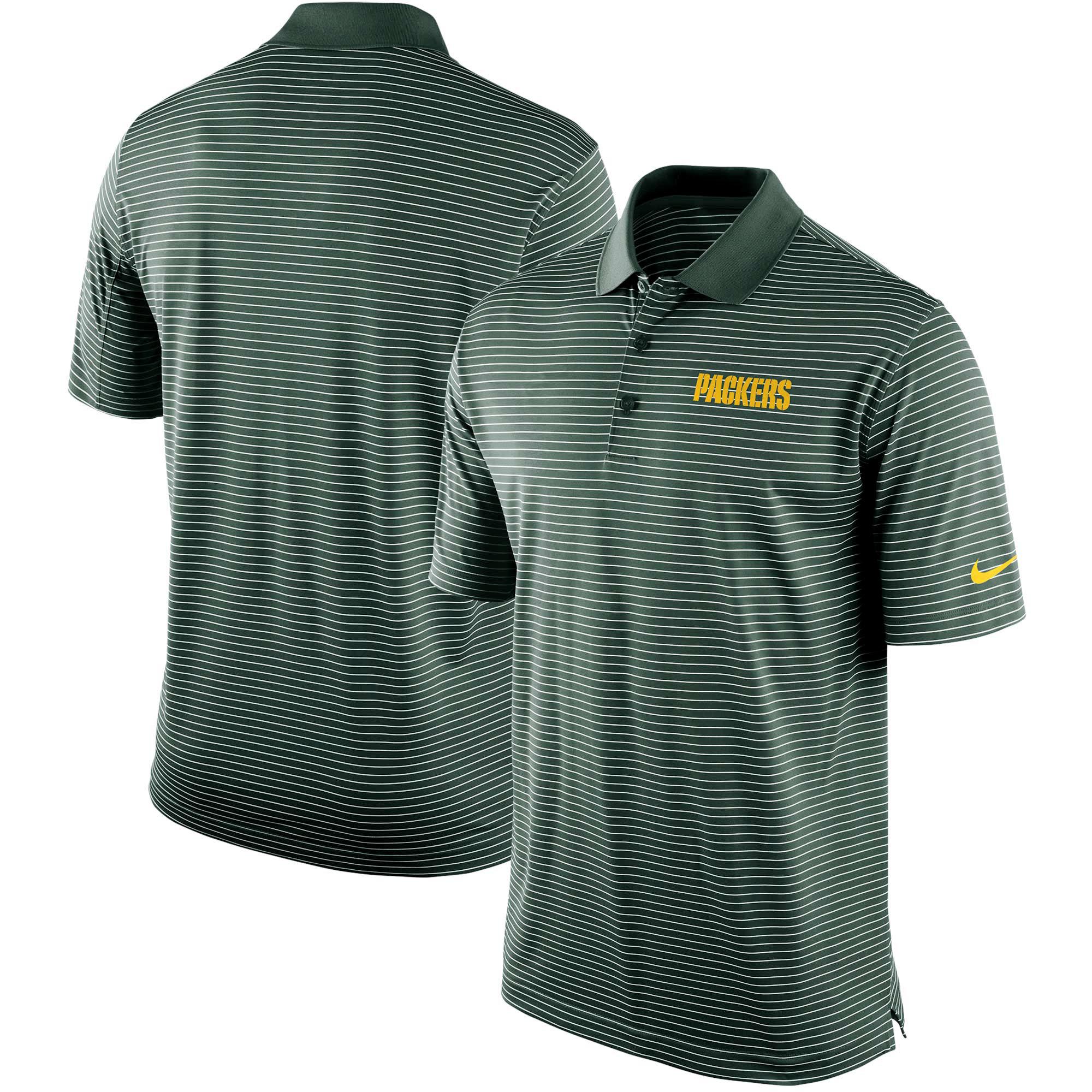 Green Bay Packers Nike Team Stadium Performance Polo - Green