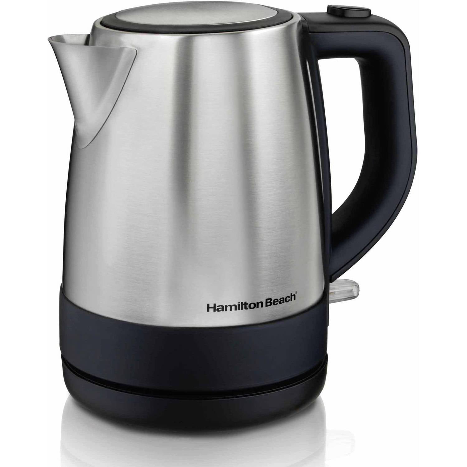 hamilton beach 1 l stainless steel electric kettle model 40998