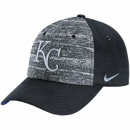 8f0ca96b Kansas City Royals Nike New Day H86 Adjustable Hat - Heathered Gray/Black -  OSFA