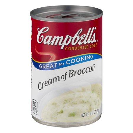 Campbells Condensed Soup Cream Of Broccoli  10 5 Oz