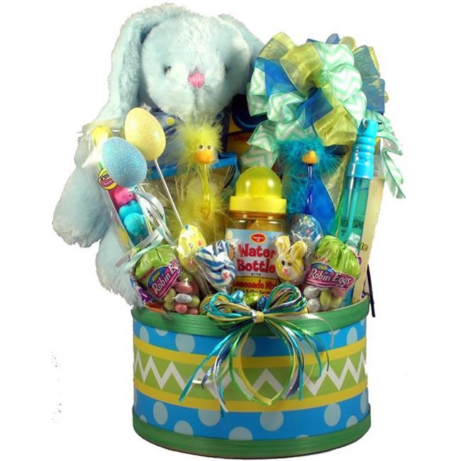 Gift Basket Village, Inc. EaEgHu-Lg Easter Egg Hunt, Easter Basket For Kids - Large