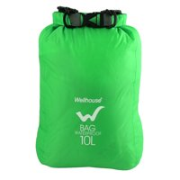 Wellhouse Authorized Travel Water Resistant Backpack Dry Bag Green 10L