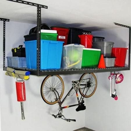 Saferacks 2 4x8 Overhead Garage Storage Racks Heavy Duty 12 22