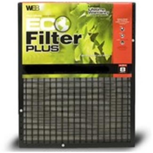 WEB KHBWPLUSWP2030 20 x 30 x 1 WEB Plus Permanent Electrostatic 1 inch Thick Filter