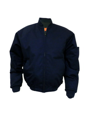 Solar 1 Clothing Lined Panel Work Wear Jacket Rib-Knit Colloar MJ38