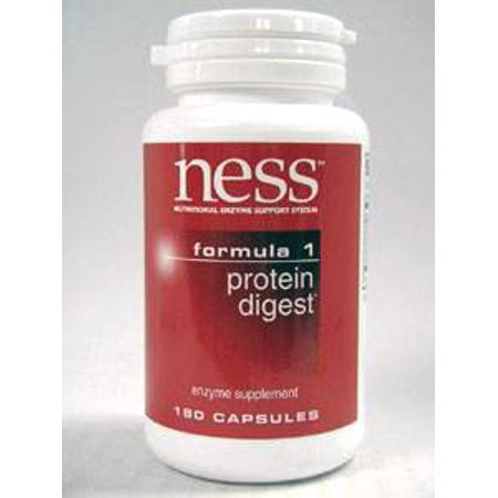 Ness Enzymes, n ° 1 Protein Digest 180 caps