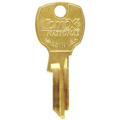 COMPX NATIONAL D4301 Key Blank, For 4DEF7 & 4DEF8