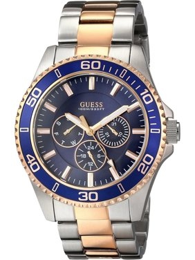 b4065def1 Product Image W0172G3,Men's Mutli-function,Two-Tone Rose Gold-Tone,Blue