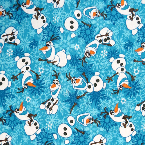 SheetWorld Fitted Bassinet Sheet - Olaf
