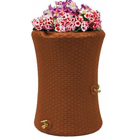 Nantucket Harvest - Impressions 50-Gallon Nantucket Rain Saver, Terra Cotta