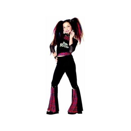 Child's Rebel Punk Rocker Girl Costume