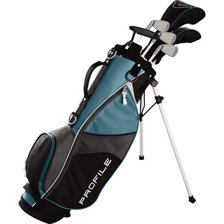 Wilson Profile JGI Junior Large Complete Golf Set with Bag (Teal, Right Handed)
