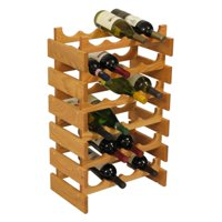 Wooden Mallet Dakota 24 Bottle Floor Wine Rack