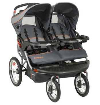 Baby Trend Navigator Double Jogging Stroller, Vanguard by Baby Trend