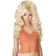 Adult Bombshell Blonde Wig Halloween Costume Accessory
