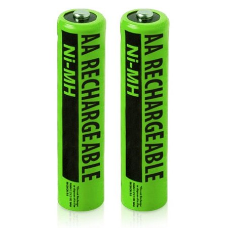 Replacement Battery NiMh AA Batteries 2-Pack for Uniden Phones BT-211AR / NiMH AA Batteries (2-Pack)