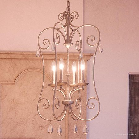 Urban Ambiance Luxury French Country Chandelier, Medium Size: 35