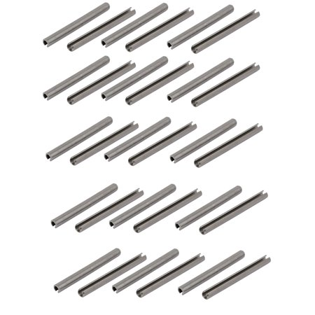 Uxcell M4x45mm 304 Stainless Steel Split Spring Dowel